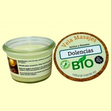 Vela Masaje Dolencias Bio - 50 gramos - Natural mente