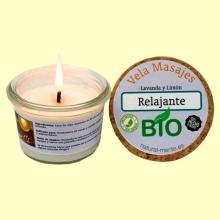 Vela Masaje Relajante Bio - 50 gramos - Natural mente