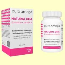 Natural DHA Embarazo y Lactancia - 240 perlas - Puro Omega