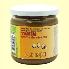 Tahin Monki Bio Sin Sal - 330 gramos
