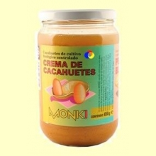 Crema de cacahuetes Monki Bio - 650 gramos