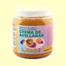 Crema de avellanas Monki Bio - 330 gramos