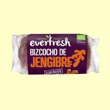 Bizcocho de Jengibre Bio - 380 gramos - Everfresh
