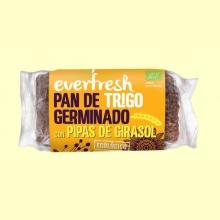 Pan de Trigo Germinado con Linaza y Pipas de Girasol Bio - 400 gramos - Everfresh