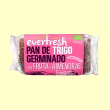 Pan de Trigo Germinado con Frutos Secos Bio - 400 gramos - Everfresh