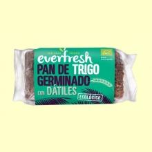 Pan de Trigo Germinado con Dátiles Bio - 400 gramos - Everfresh