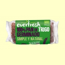 Pan Germinado de Trigo Integral Ecológico - 400 gramos - Everfresh