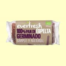 Pan Germinado de Espelta Ecológico - 400 gramos - Everfresh