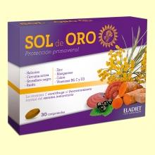Sol de Oro comprimidos - Ayuda contra las alergias - 30 comprimidos - Eladiet