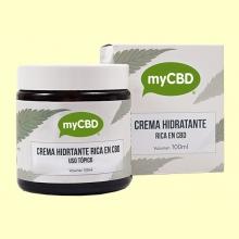Crema Hidratante CBD - 100 ml - myCBD