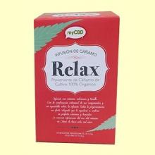 Infusión Relax con CBD - 25 bolsitas - myCBD