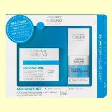 Pack Aquanature - Crema de Noche Hidratante + 2-Phase Hyaluron Shake - Anne Marie Börlind - 50 ml + 15 ml