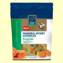 Caramelos de Miel de Manuka MGO 400+ con Própolis - 250 gramos - Manuka World *