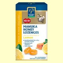 Caramelos de Miel de Manuka MGO 400+ con Limón - 65 gramos - Manuka World