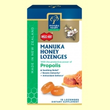 Caramelos de Miel de Manuka MGO 400+ con Própolis - 65 gramos - Manuka World