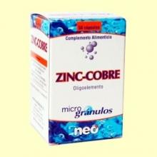 Microgránulos Zinc-Cobre - 50 cápsulas - Neo