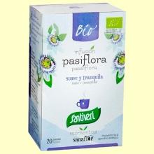 Pasiflora Infusiones Bio - 20 bolsitas filtro - Santiveri