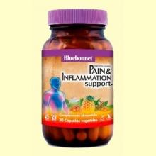 Pain & Inflamation Support - Apoyo Antiinflamatorio - 30 cápsulas - Bluebonnet
