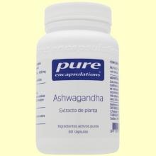 Ashwagandha - 60 cápsulas - Pure Encapsulations