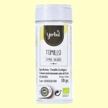 Tomillo Eco en Lata - 18 gramos - Yerbal
