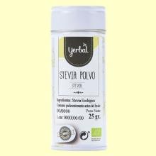 Estevia en Polvo Eco - 25 gramos - Yerbal