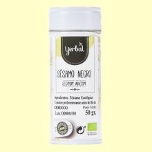 Sésamo Negro Eco - 50 gramos - Yerbal