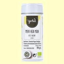 Pimienta Negra Molida Eco - 50 gramos - Yerbal
