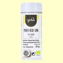 Pimienta Negra Grano Eco - 45 gramos - Yerbal