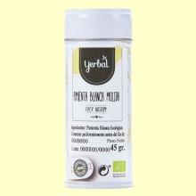 Pimienta Blanca Molida Eco - 45 gramos - Yerbal