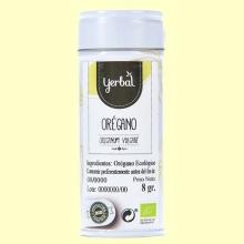Orégano Ecológico - 8 gramos - Yerbal
