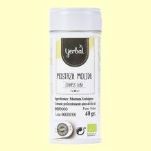 Mostaza Amarilla Molida Ecológica - 40 gramos - Yerbal