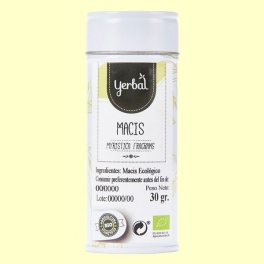Macis Ecológico - 30 gramos - Yerbal
