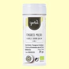 Fenogreco Molido Ecológico - 35 gramos - Yerbal