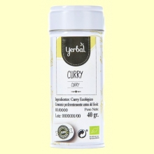 Curry Ecológico - 40 gramos - Yerbal