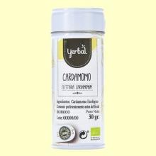 Cardamomo Ecológico - 30 gramos - Yerbal