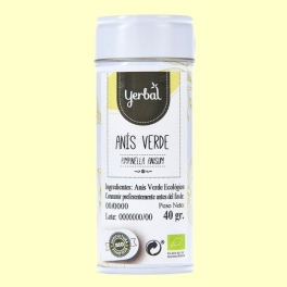Anís Verde Ecológico - 40 gramos - Yerbal