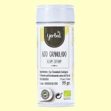 Ajo Granulado Ecológico - 55 gramos - Yerbal *