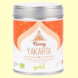 Curry Yakarta Ecológico - 80 gramos - Yerbal
