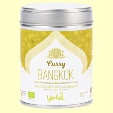 Curry Bangkok Ecológico - 80 gramos - Yerbal