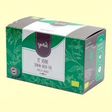 Té Verde Ecológico - 25 bolsitas - Yerbal