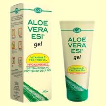 Gel de Aloe Vera con Vitamina E y Aceite de Árbol del Té - 200 ml - Laboratorios ESI