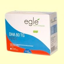DHA 80 TG NPD1 - 120 cápsulas - Egle