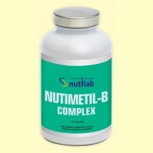 Nutimetil B-Complex - 60 cápsulas - Nutilab