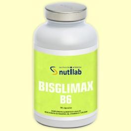 Bisglimax B6 - 90 cápsulas - Nutilab