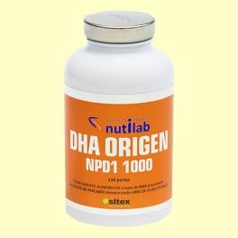DHA Origen NPD1 1000 - 120 perlas - Nutilab