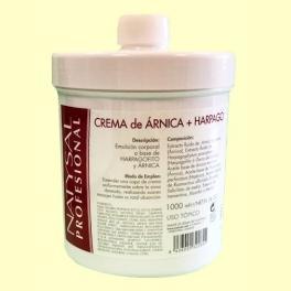 Crema de Árnica + Harpagofito - 1000 ml - Natysal