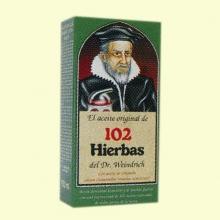 Aceite de 102 hierbas - Dr. Förster