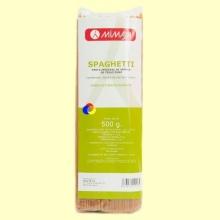 Spaghetti Integrales Ecológico - 500 gramos - Mimasa