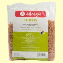 Fideos Integrales Ecológicos - 500 gramos - Mimasa