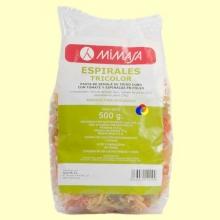 Espirales Tricolores Bio - 500 gramos - Mimasa